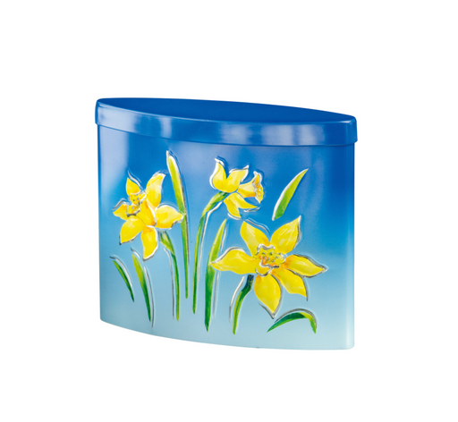 Summer Breeze Daffodils Tin Filled with Orange Creams