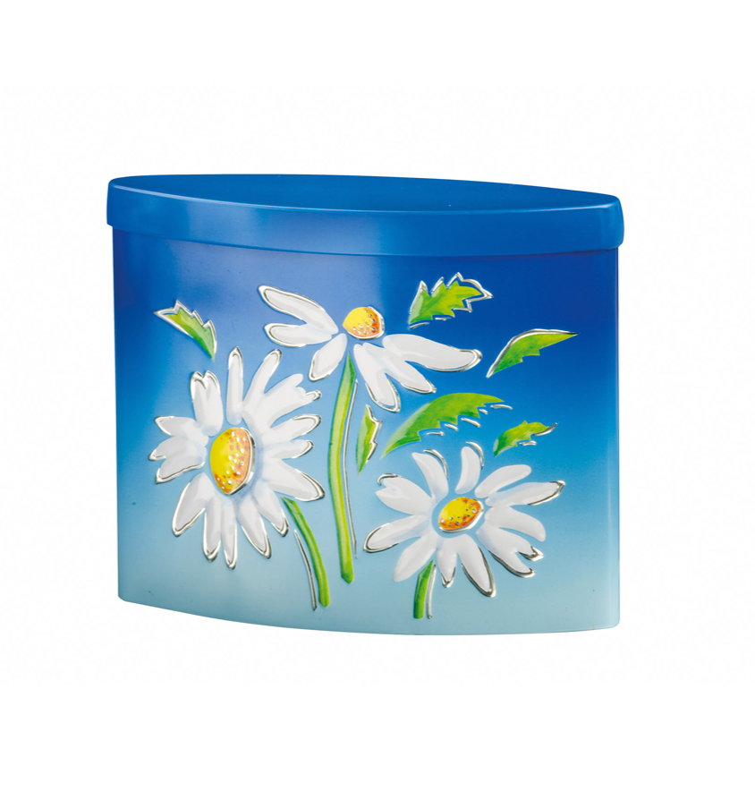 Summer Breeze Daisy Tin Filled with Mint Creams