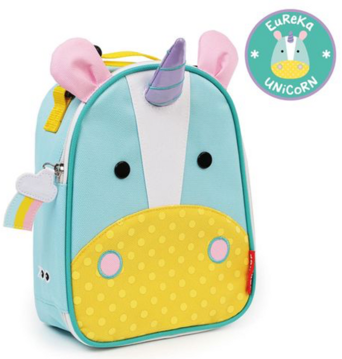 Skip Hop Zoo Unicorn Lunchie Insulated Kids Lunch Bag