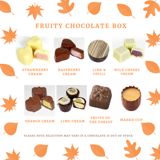 Maple Fruity Chocolate Selection Gift Box