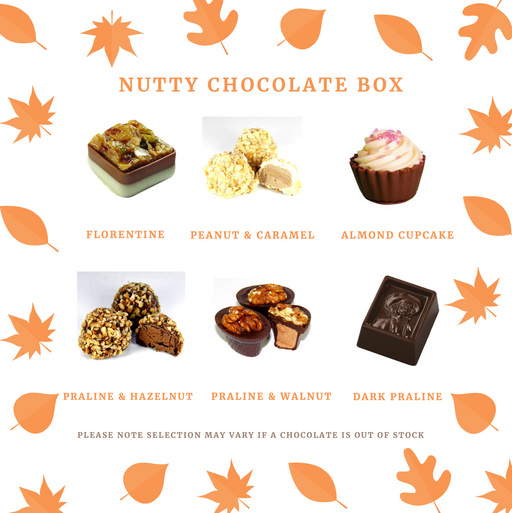 Maple Nutty Chocolate Selection Gift Box