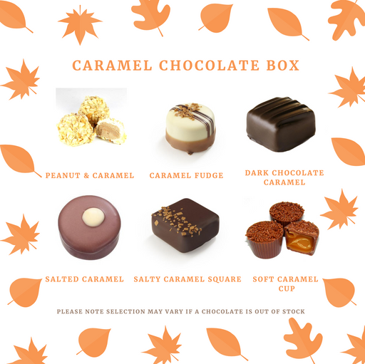 Maple Caramel Chocolate Selection Gift Box