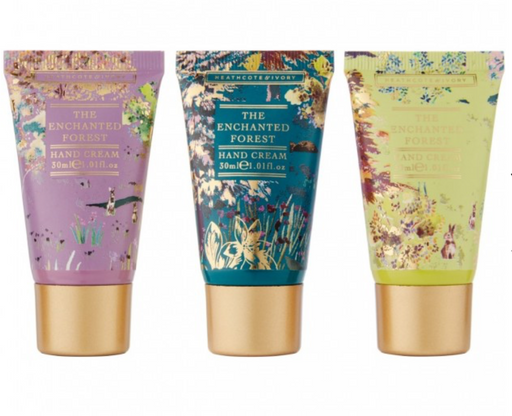 Heathcote & Ivory The Enchanted Forest Hand Cream Trilogy