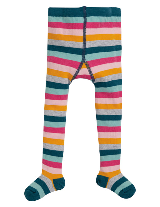 Frugi Little Norah Tights, Cosmic Stripe