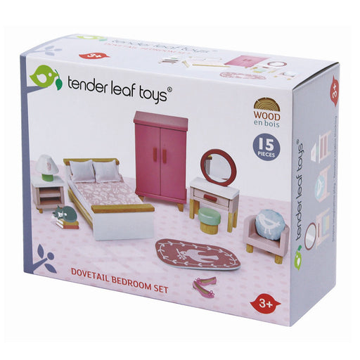 Tender Leaf Toys Dolls House Bedroom Furniture