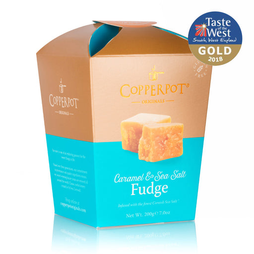 Copperpot Caramel & Sea Salt Butter Fudge (200g)