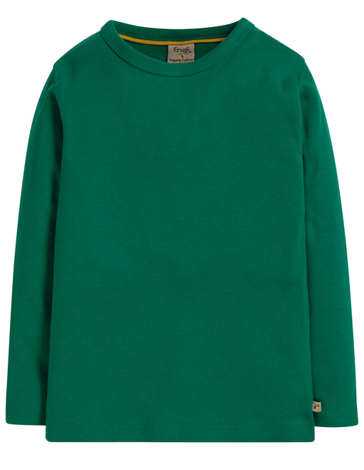 Frugi Favourite Long Sleeve Tee, Jade