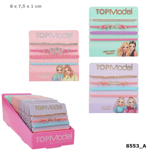 TOPModel Hair and Bracelet Set