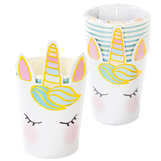 Talking Tables We Heart Unicorns Face Cups - 8 Pack