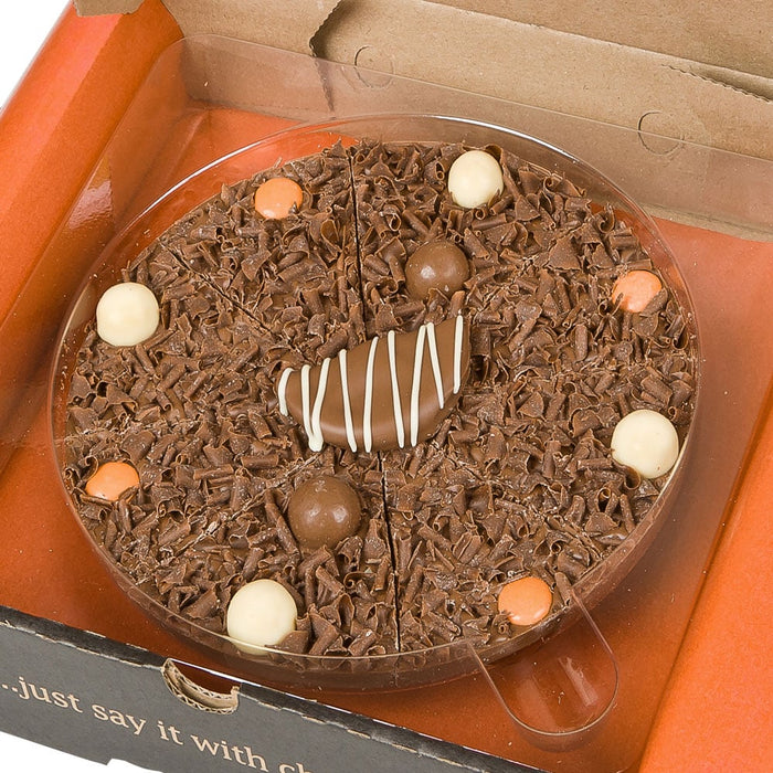 Ultimately Orange Chocolate Pizza
