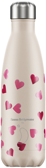 Chilly's Bottle 500ml Emma Bridgewater Hearts