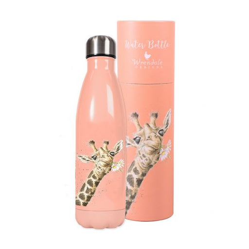 Wrendale Flowers Giraffe Water Bottle