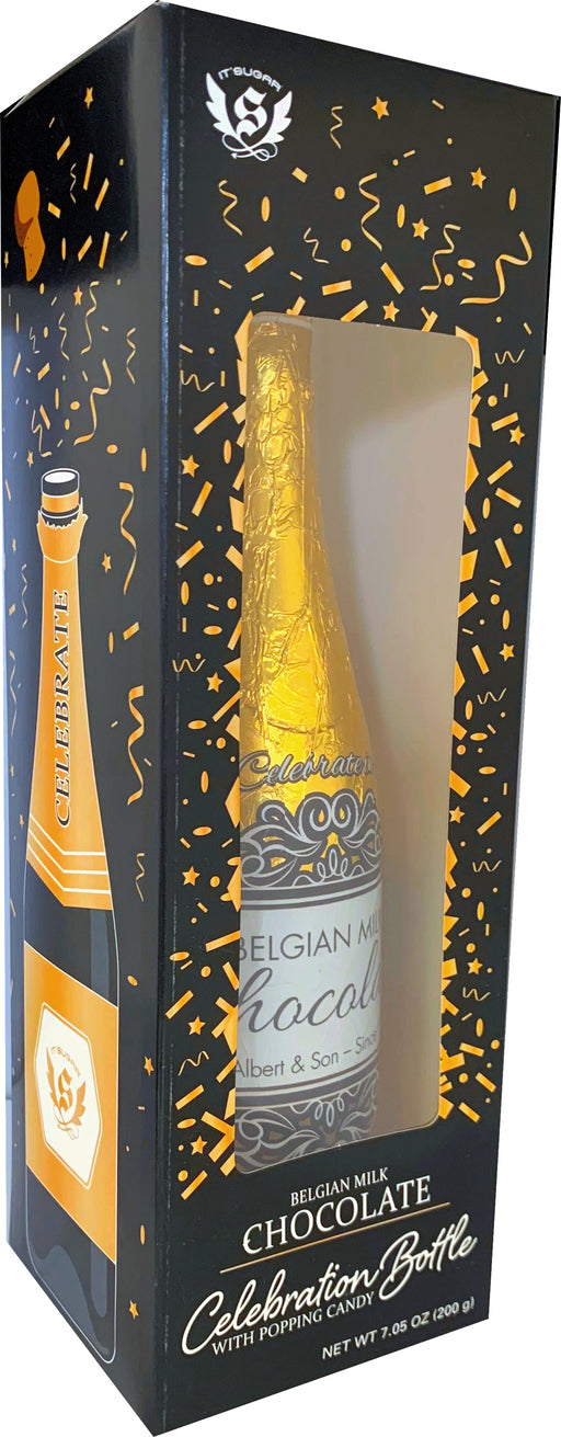 Chocolate Champagne Bottle 200g