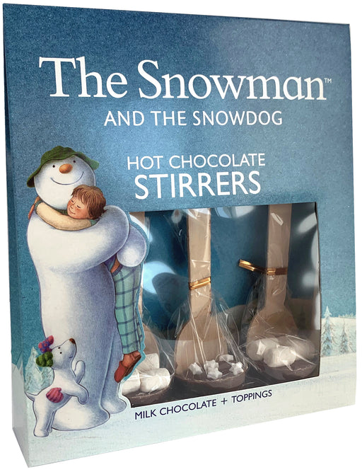 The Snowman Hot Chocolate Stirrers 3pk