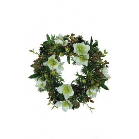 Christmas Petite Mixed Wreath 30cm