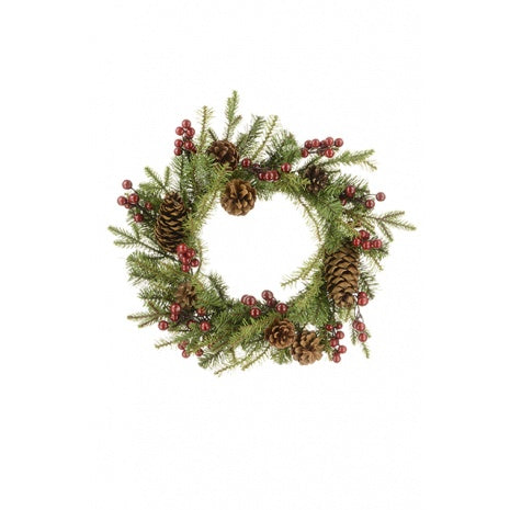 Christmas Arlington Natural Wreath 45cm
