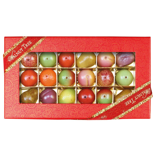 Walnut Tree Medium Marzipan Fruit Box