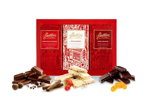 Butlers Christmas Chocolate Bar Library