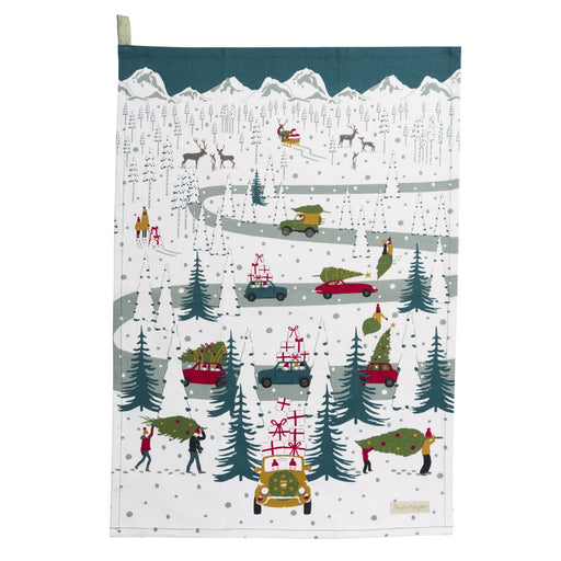 Sophie Allport Tis The Season Tea Towel