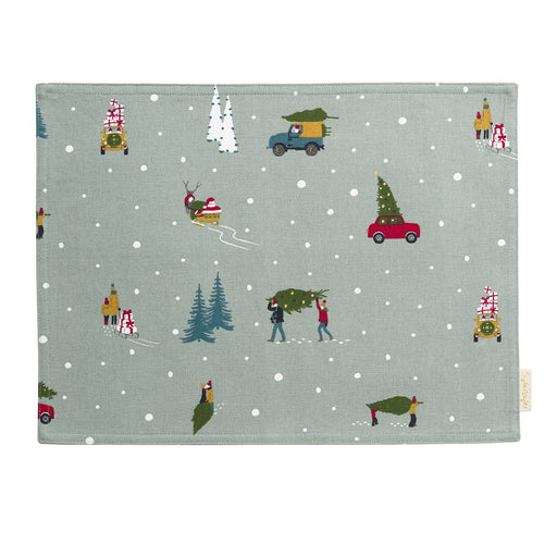 Sophie Allport Home for Christmas Fabric Placemat