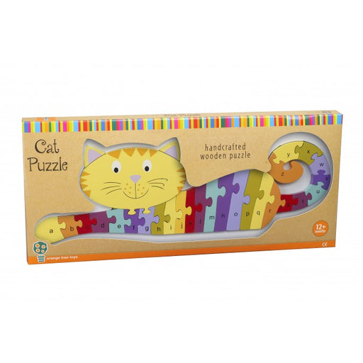 Orange Tree Alphabet Cat Puzzle