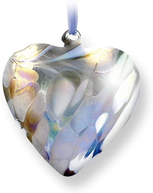 Nobile Glassware Birth Gem Heart - April