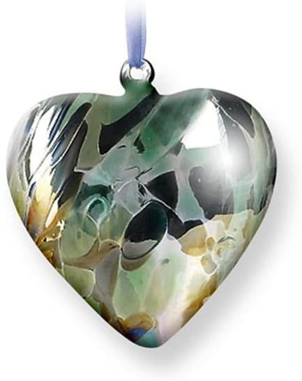 Nobile Glassware Birth Gem Heart - August