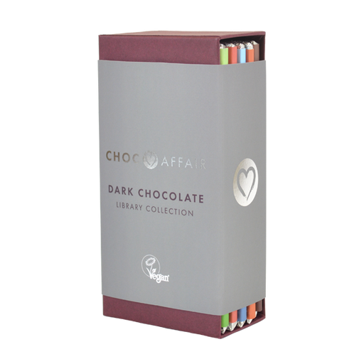Choc Affair Signature Dark Chocolate Library Collection Gift Set - Dated 7/2020
