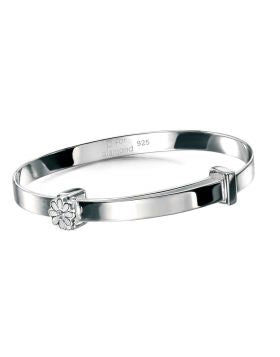 D For Diamond Daisy Bangle