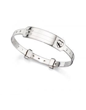 D For Diamond Baby Bangle
