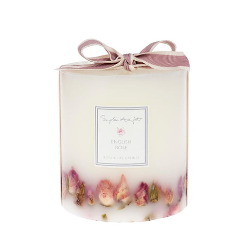 Sophie Allport English Rose Botanical Candle