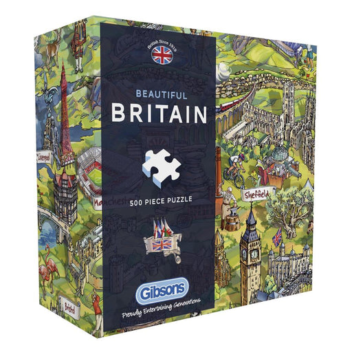 Gibsons Beautiful Britain 500pc Jigsaw Puzzle