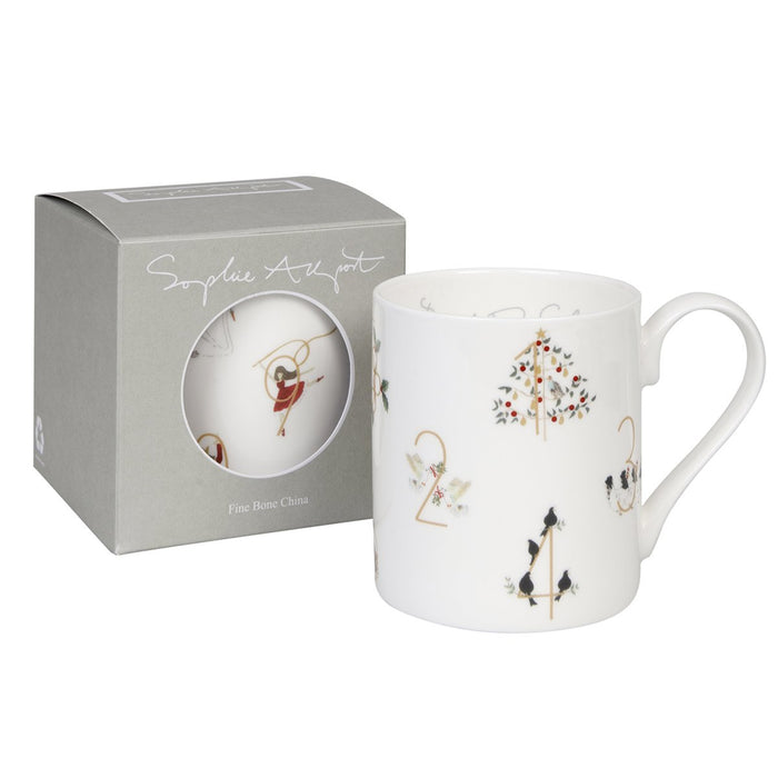 Sophie Allport 12 Days Of Christmas Mug