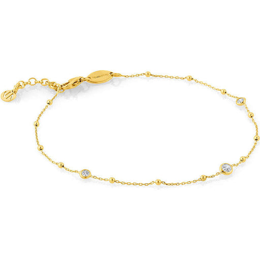 Nomination Bella Gold Plated Cubic Zirconia Ankle Bracelet