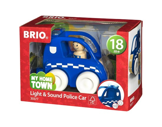 Brio Light and Sound Police Car