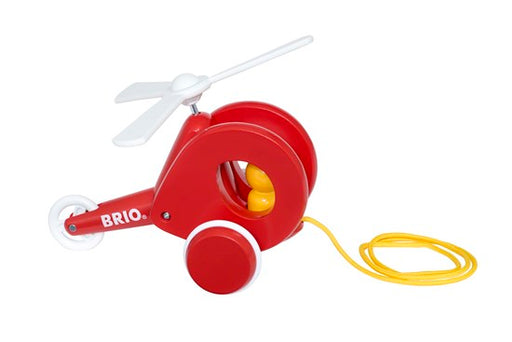Brio Pull Along Helicopter