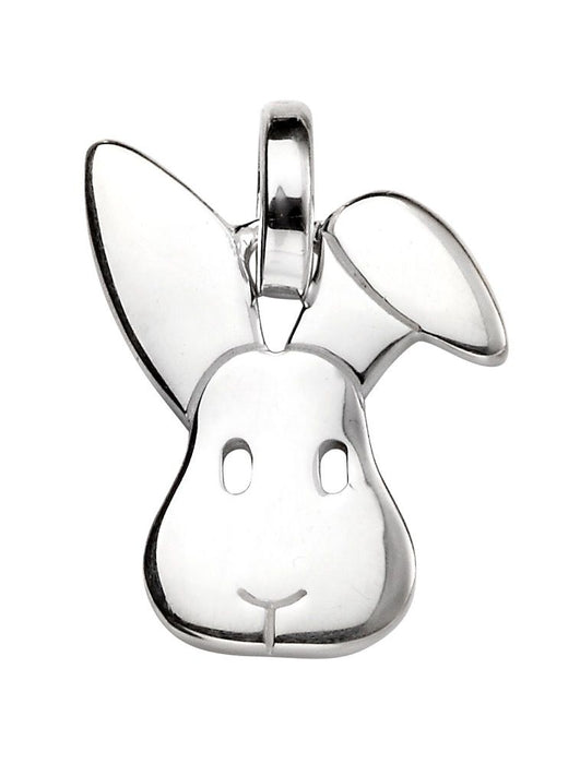 Sterling Silver Animal Necklace Rabbit