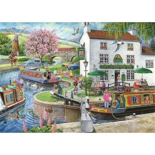 HOP By The Canal 1000 Piece Jigsaw Puzzle