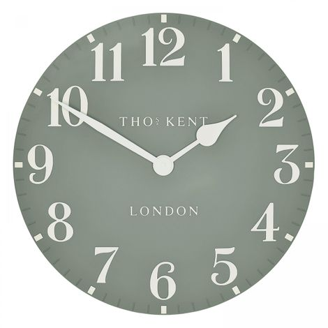 "Thomas Kent 20"" Arabic Seagrass Wall Clock"