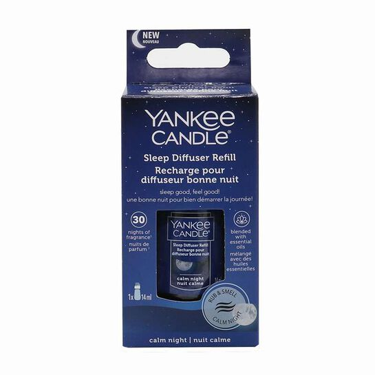 Yankee Candle Sleep Diffuser Refill - Calm Night