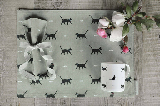 Sophie Allport Black Cat & Bone Mug