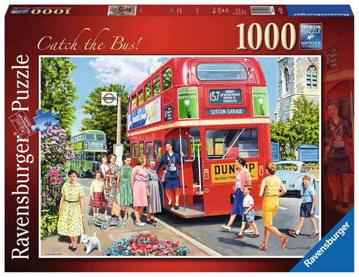 Ravensburger Catch The Bus 1000 Piece Jigsaw Puzzle