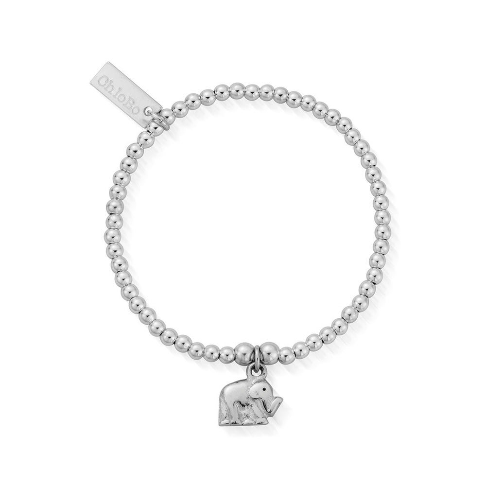 ChloBo Childrens Cute Charm Elephant Bracelet