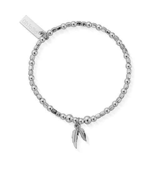 ChloBo Childrens Double Feather Bracelet