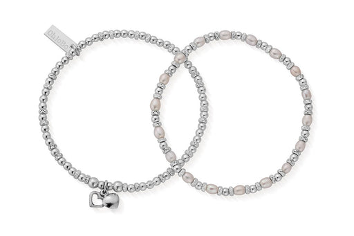 ChloBo Forever Love Set of 2 Bracelets