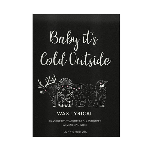 Wax Lyrical Candle Advent Calendar Baby It's Cold Outside