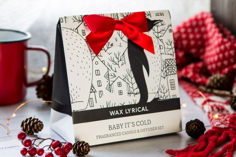 Wax Lyrical Baby It's Cold Diffuser & Votive Gift Bag