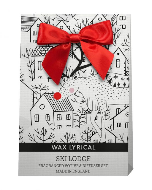 Wax Lyrical Ski Lodge Diffuser & Votive Gift Bag - Baby It's Cold Outside