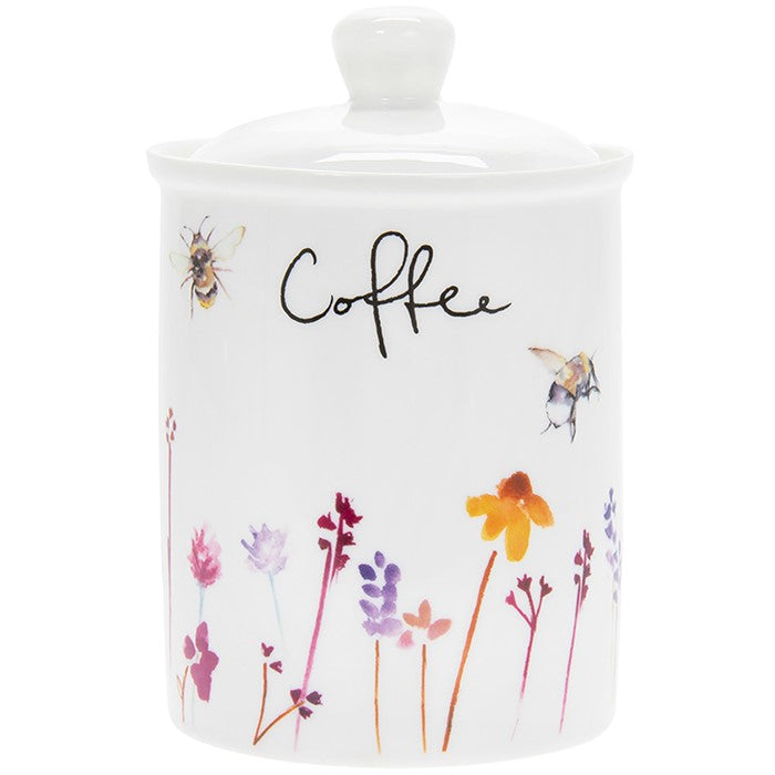 Busy Bees Coffee Canister
