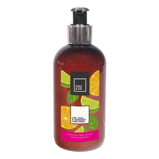 Cole & Co Hand Wash Lime, Basil & Mandarin
